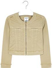 Джинсовая куртка Mayoral 6408-40 10Y Светло-коричневая (2906408040106) от Rozetka