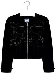 Джинсовая куртка Mayoral 6408-38 8Y Черная (2906408038080) от Rozetka