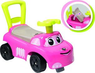 Машина для катания детская Smoby Toys 54 x 27 x 40 см Розовый котик (720524) (3032167205247) от Rozetka