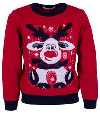 Акция на Джемпер Flash Рождество 19BG133-6-3900 92 см NY Красный (2200000248176) от Rozetka