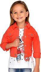 Джинсовая куртка Mayoral 3407-17 4Y Красная (2903407017047) от Rozetka