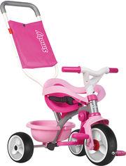 Детский металлический велосипед Smoby Be Move с багажником и сумкой-конвертом Розовый (740404) (3032167404046) от Rozetka