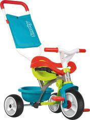 Детский металлический велосипед Smoby Be Move с багажником и сумкой-конвертом Голубо-зеленый (740401) (3032167404015) от Rozetka