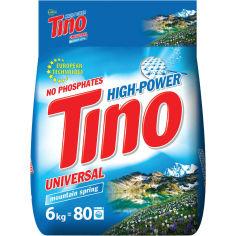 Акция на Стиральный порошок TINO Mountain spring Universal 6 кг (4823069706210) от Foxtrot