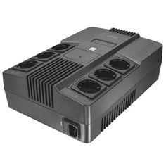 Акция на ИБП Trust Maxxon 800VA UPS with 6 standard wall power outlets BLACK (23326_TRUST) от MOYO