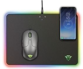 Игровая поверхность Trust GXT 750 Qlide RGB Gaming Mouse Pad with wireless charging (23184_TRUST) от MOYO