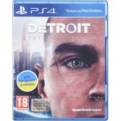 Акция на Игра Detroit.Стать Человеком для PS4 от Foxtrot