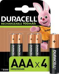 Акция на Аккумулятор Duracell Recharge Turbo AAA 900 мА·ч 4 шт (5005015) от Rozetka