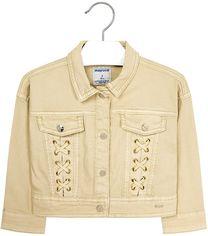 Джинсовая куртка Mayoral 3407-18 9Y Светло-коричневая (2903407018099) от Rozetka