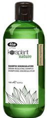 Акция на Шампунь для регулирования жирности волос Lisap Keraplant Nature Sebum-regulating shampoo 1000 мл (1100490000012) от Rozetka
