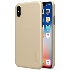 Акция на Чехол NILLKIN для iPhone X Super Frosted Shield Gold от MOYO