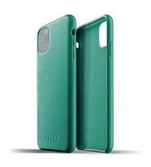 Акция на Чeхол MUJJO для iPhone 11 Pro Max Full Leather Alpine Green от MOYO