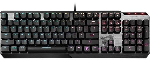 Игровая клавиатура MSI Vigor GK50 LOW PROFILE UA (S11-04UA204-GA7) от MOYO
