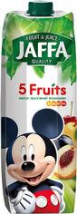 Упаковка нектара Jaffa из смеси фруктов обогащенный витаминами 5 фруктов 0.95 л х 12 шт (4820192261500) от Rozetka