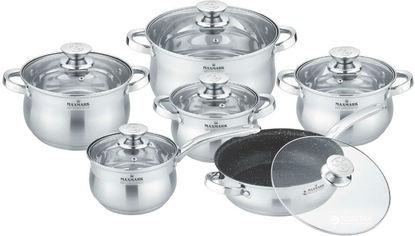 Набор посуды Maxmark из 12 предметов (MK-BL2512A) от Rozetka