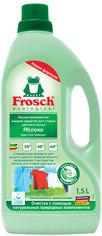 Акция на Концентрированное жидкое средство Frosch для стирки цветного белья Яблоко 1.5 л (4009175150806) от Rozetka