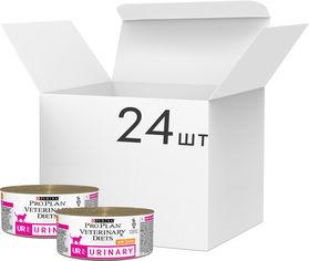 Упаковка влажного корма Purina Veterinary Diets UR Mousse Turkey 195 г по 24 шт (7613035182042) от Rozetka