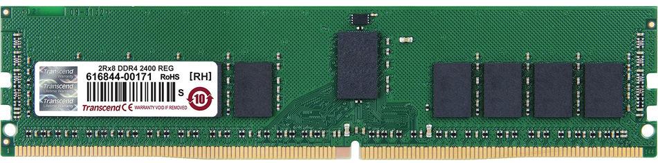 Акция на Оперативная память Transcend DDR4-2400 16384MB PC4-19200 (TS2GHR72V4B) от Rozetka
