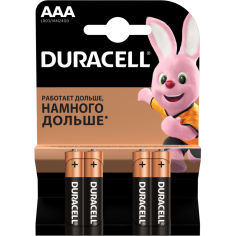 Батарейка DURACELL LR03 MN2400 (81545421) от Foxtrot