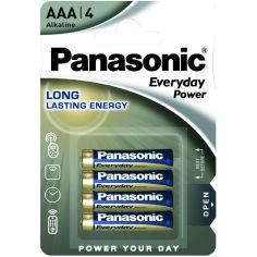 Батарейки PANASONIC LR03 Everyday Power (LR03REE/4BR) 4 шт. от Foxtrot