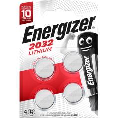 Батарейка ENERGIZER CR2032 Lithium 4 шт (E300830102) от Foxtrot