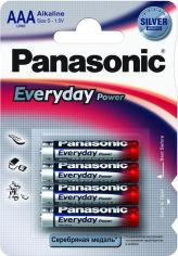 Батарейки PANASONIC LR03 Everyday Power 1x4 шт. от Foxtrot