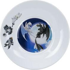 Тарелка десертная ОСЗ Как приручить Дракона 3 19.6 см (16с1914 2ДЗ Дракони) от Foxtrot