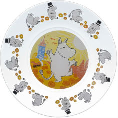 Тарелка десертная ОСЗ Муми-тролли 19.6 см (16с1914 4ДЗ Муми-тр) от Foxtrot