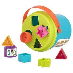 Акция на Игровой набор Battat Lite 2 в 1 Сортер-пирамидка (BT2529Z) от Будинок іграшок