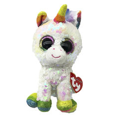 Акция на Мягкая игрушка TY Flippables Белый единорог Пикси 15 см (36669) от Будинок іграшок