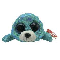 Акция на Мягкая игрушка TY Flippables Тюлень Вейвс 15 см (36676) от Будинок іграшок