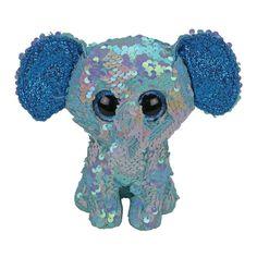 Акция на Мягкая игрушка TY Flippables Слоненок Stuart 15 см (36344) от Будинок іграшок