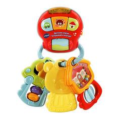 Акция на Интерактивная игрушка-ключи VTech Открывай и изучай звуковая на русском (80-505126) от Будинок іграшок