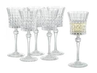 Набор бокалов для вина Eclat Lady Diamond 190 мл x 6 шт (L9744) от Rozetka