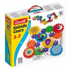Акция на Конструктор Quercetti Калейдо-шестеренки (2341-Q) от Будинок іграшок