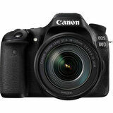 Фотоаппарат CANON EOS 80D 18-135 IS nano USM KIT (1263C040AA) от Foxtrot