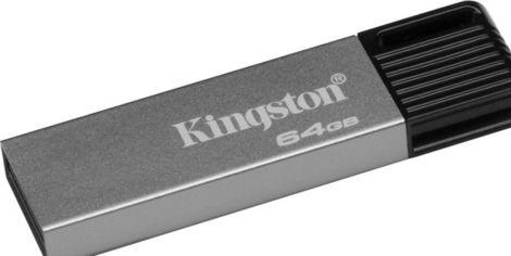 Акция на Накопитель USB 3.0 DataTraveler Mini 64GB (DTM7/64GB) от MOYO
