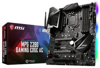 Акция на Материнcкая плата MSI MPG Z390 GAMING EDGE AC от MOYO