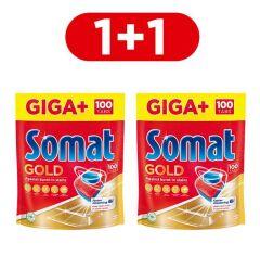 Акция на Таблетки для посудомоечной машины Somat Gold 100 таблеток (9000101356069) от Rozetka
