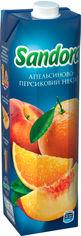 Упаковка нектара Sandora Апельсиново-персиковый 0.95 л х 10 шт (4823063112932) от Rozetka
