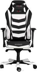 Кресло для геймеров DXRacer Iron OH/IS166/NW (чёрное/белые вставки) (59887) от Rozetka