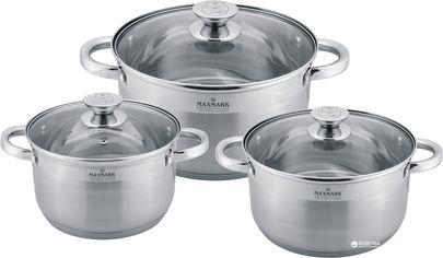 Набор посуды Maxmark из 6 предметов (MK-3506C) от Rozetka
