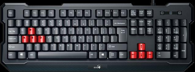 Клавиатура проводная Genius Scorpion K210 USB Black UKR (31310005406) от Rozetka