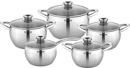 Набор посуды Maxmark из 10 предметов (MK-APP7510) от Rozetka