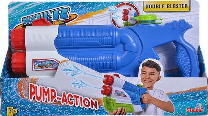 Водный бластер Simba Toys двойной с помпой 3+ (7276000) от Rozetka