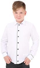 Акция на Рубашка Timbo Kevin 146 см 38 р Белая (R034034_146) от Rozetka