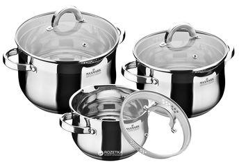 Набор посуды Maxmark 6 предметов (MK-BL6506F) от Rozetka