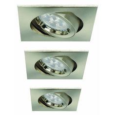 Светильник точечный LIGHT TOPPS BEST PERFOMANCE LINE LT13347 (набор их 3-х) от Rozetka