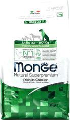 Сухой корм Monge Dog Maxi Puppy&Junior для щенков больших и очень больших пород со вкусом курицы и риса 3 кг (8009470004350) от Rozetka
