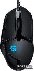 Акция на Мышь Logitech G402 Hyperion Fury USB Black (910-004067) от Rozetka